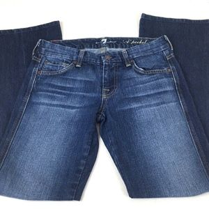 7 for all Mankind Jeans - 7 For All Mankind Women's A Pocket Jeans 28 x 29